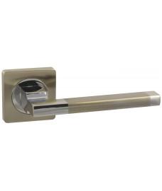 Дверная ручка Vantage V53D матовый никель