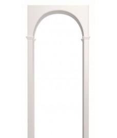 Арка Милано белая эмаль