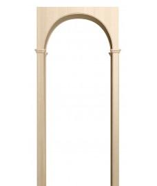 Арка Милано беленый дуб