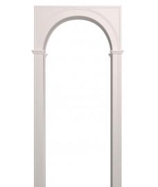 Арка Палермо белая эмаль