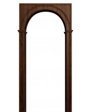 Квадратная арка Палермо темный орех