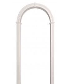 Арка Валенсия белая эмаль