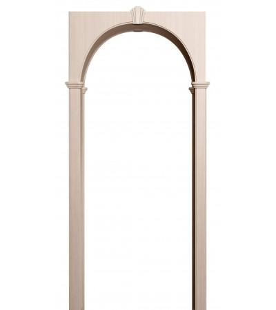 Арка из экошпона Милано светлый венге