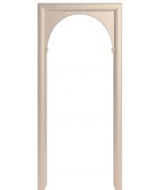 Арка из экошпона Модерн белый ясень