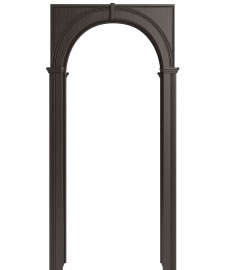 Арка на дверь Палермо эковенге (экошпон)