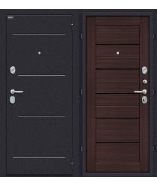 Дверь входная металлическая Оптим Техно Лунный камень / Wenge Veralinga