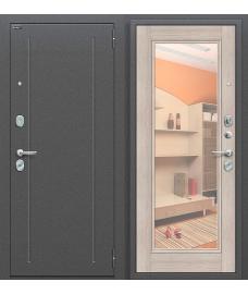 Дверь входная металлическая Оптим Флэш Антик Серебро / Bianco Veralinga