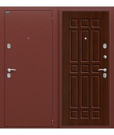 Дверь входная металлическая Оптим Старт Антик Медь / П-33 Венге