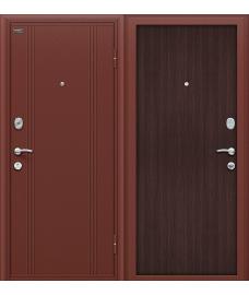 Дверь входная металлическая Оптим Door Out 201 Антик Медь / Wenge Veralinga