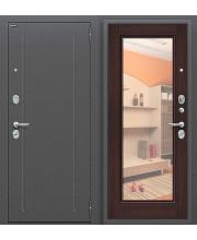 Дверь входная металлическая Оптим Флэш Антик Серебро / Wenge Veralinga