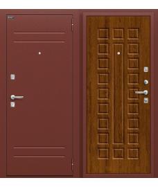 Дверь входная металлическая Оптим Нова Антик Медь / П-26 Французский Дуб
