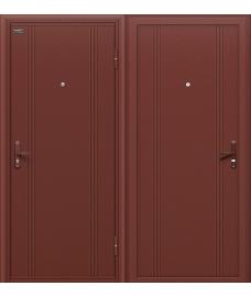Дверь входная металлическая Оптим Door Out 101 Антик Медь / Антик Медь