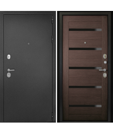 Входная дверь Гарант-1 Царга Венге