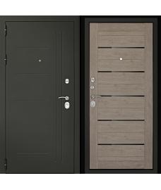 Входная дверь Сити-С3К Лиственница серая