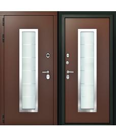 Входная дверь Форте Коричневая