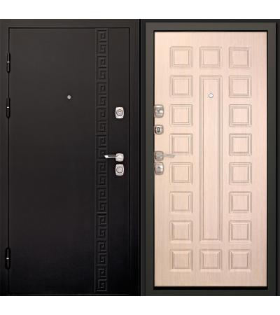 Входная дверь Сити-3К Беленый дуб