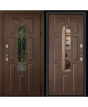 Входная дверь Лион Темный орех
