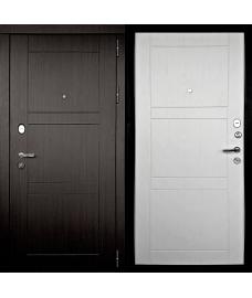 Входная дверь Тепло-Макс Беленый дуб