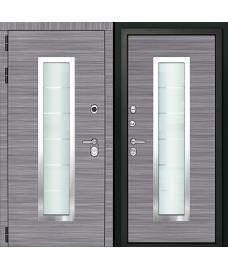 Входная дверь Форте Сандал серый