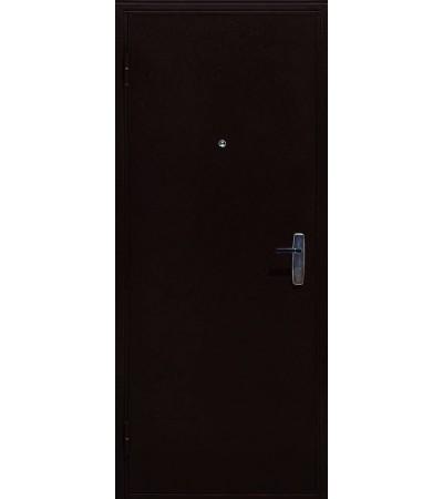 Дверь металлическая АМД-1 медный антик/анегри