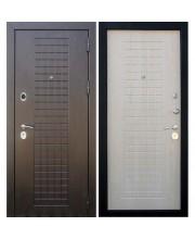 Дверь металлическая Кондор Реал венге беленый дуб