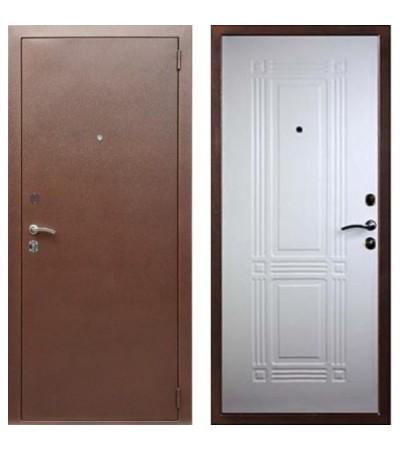 Дверь металлическая Кондор 2 Белый ясень