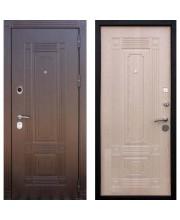 Дверь металлическая Кондор Мадрид беленый дуб