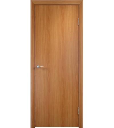 ламинированнная дверь Гладкая ПГ миланский орех
