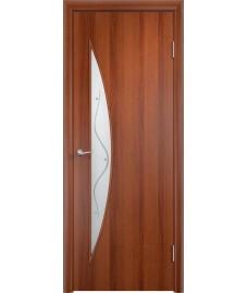 Дверь Парус ПОФ итальянский орех