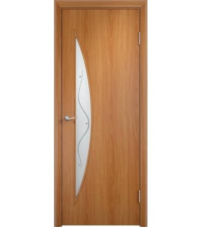 ламинированнная дверь Парус ПОФ миланский орех