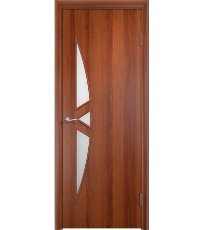 ламинированнная дверь Соната ПО итальянский орех