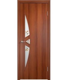 Дверь Соната ПОФ итальянский орех