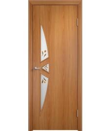 Дверь Соната ПОФ миланский орех