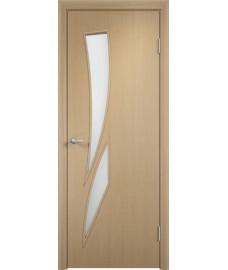 Дверь Стрелиция ПО беленый дуб