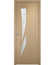 Дверь Стрелиция ПОФ беленый дуб