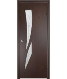Дверь Стрелиция ПОФ венге