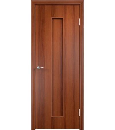 ламинированнная дверь Тифани ПГ итальянский орех