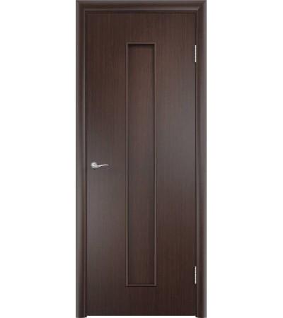 ламинированнная дверь Тифани ПГ венге