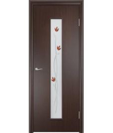 Дверь Тифани ПО венге