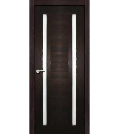 Межкомнатная дверь Стелла Экошпон чёрный бархат