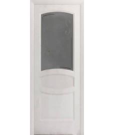 Межкомнатная дверь Лига Аврора 2 до 1 белый ясень