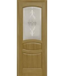 Межкомнатная дверь Лига Аврора 2 до 1 дуб