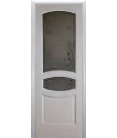 Межкомнатная дверь Лига Аврора 2 до белый ясень