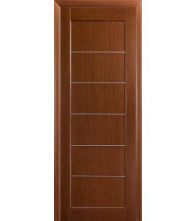 Межкомнатная дверь Лига Модерн 3 дг тёмный орех