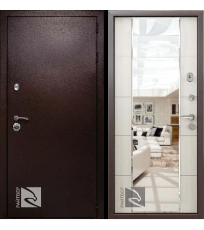 дверь металлическая райтвер президент меланж светлый