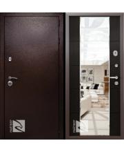 дверь металлическая райтвер президент меланж темный