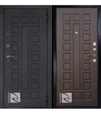 дверь металлическая райтвер сенатор лайф венге