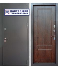 дверь металлическая райтвер сибирь термо тиковое дерево