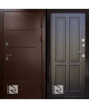 дверь металлическая райтвер термо терморазрыв венге