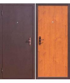 Дверь металлическая Стройгост 5-1 Металл/Золотистый дуб